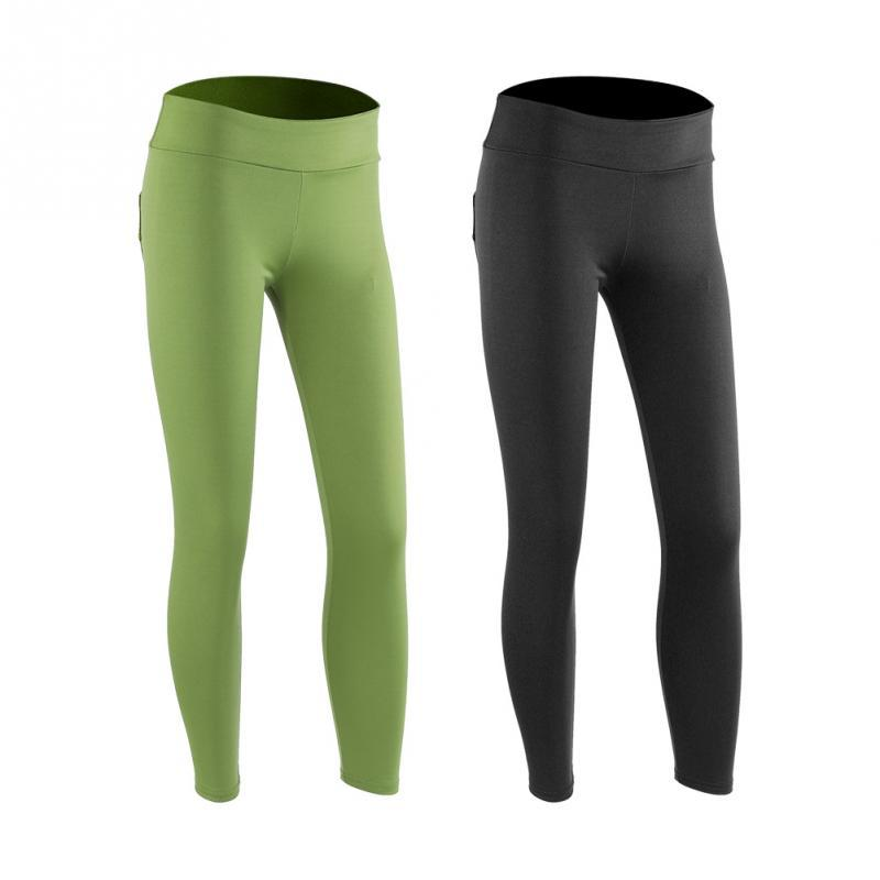 f102ae611a083 2019 Women Yoga Pants Sports Running Fitness Leggings Pants Gym Compression  Tight Training Athletic Trousers With Pockets From Mtaiyang, $39.45    DHgate.Com