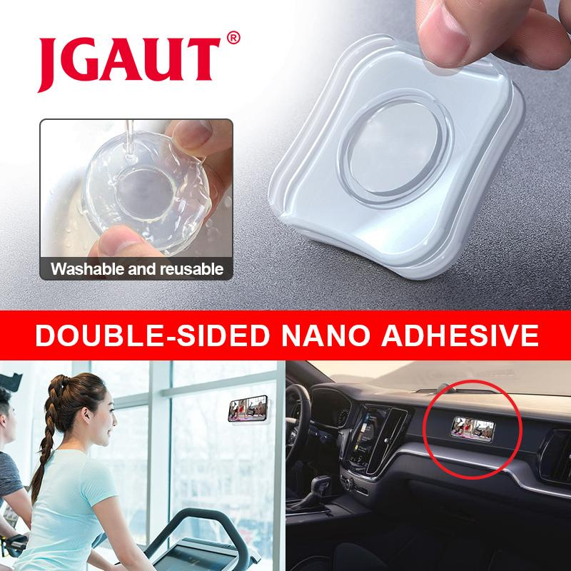 Magic Nano Rubber Pad Mobile Phone Holder Sticker Universal Phone Car Bracket No Trace Multi-Function Fixate Gel Pad