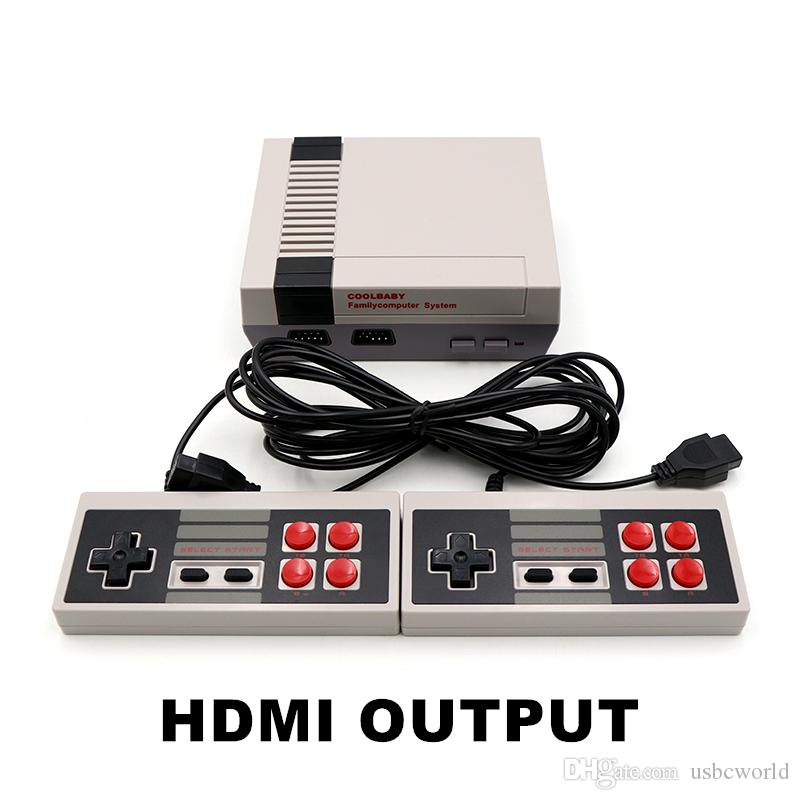 Coolbaby HDMI Mini Game Console Video Player Can Store 600 Games 8 Bit NES Family Gift Cradle Desgin