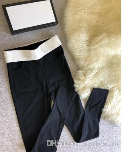 Brand Design Letter G F Women's Sexy Leggings Sport Girl Skinny Stretchy Pants Hot Sale Tight Fitting Elastic Slim Fitness Pencil Trousers