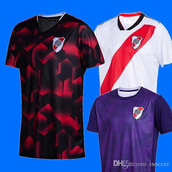8b6d85b65e8cc Reiver Plate 18 19 Third Soccer Jersey 2019 River Plate Football Shirt  BALANTA CAVENAGHI Camisa De Futebol SCOCCO SOSA Camiseta De Futbol Por  Isoccer