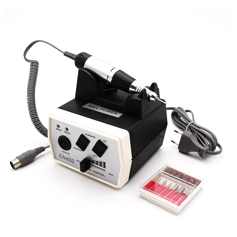 New Professional 35W Electric Drill & Accessories Nail Art Drill Machine Pedicure Files Electric Manicure Nail Equipment