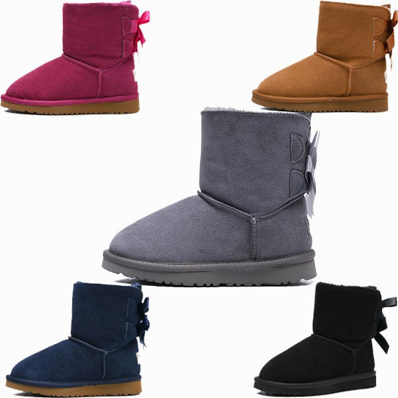 dbad27b7c9 Designer WGG Women Winter Snow ABCD Boots Australia Tall Short Kneel Ankle  Black Grey Chestnut Navy Blue Red Coffee Cheap Lady Girl BOOT Chukka Boots  Men ...