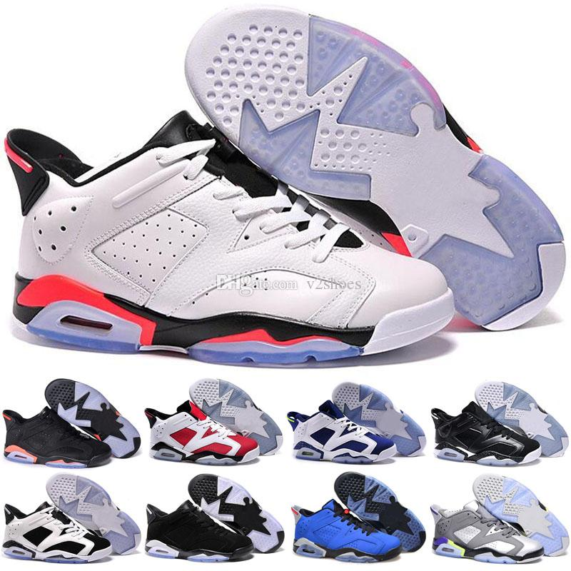 best sneakers aae73 5ba28 Cheap 6 Basketball Shoes Low New 2019 6s Men Shoes Real Man Retro Hombre  Basket Sneakers