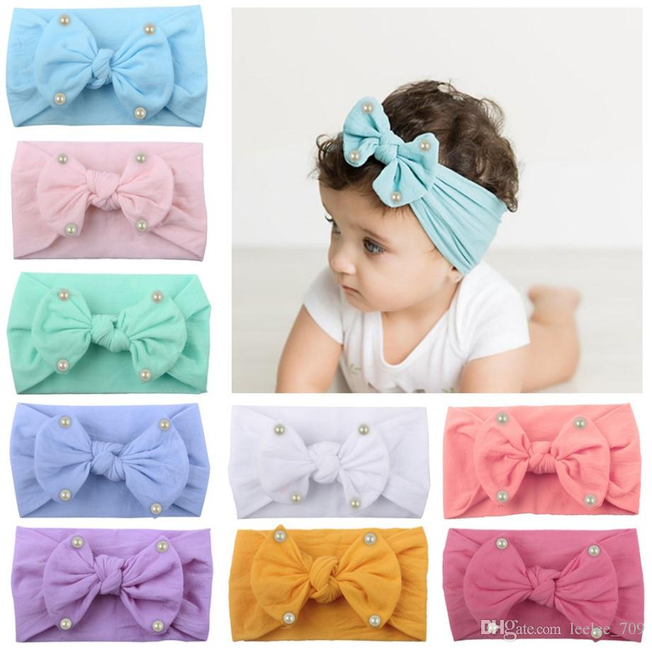 953de3355c261 Ins Bows Baby Headbands Cute Princess Girls Headbands Bow Designer Kids Hair  Bands Infant Hair Sticks Newborn Hair Accessories A2638 Kids Hair  Accessories ...