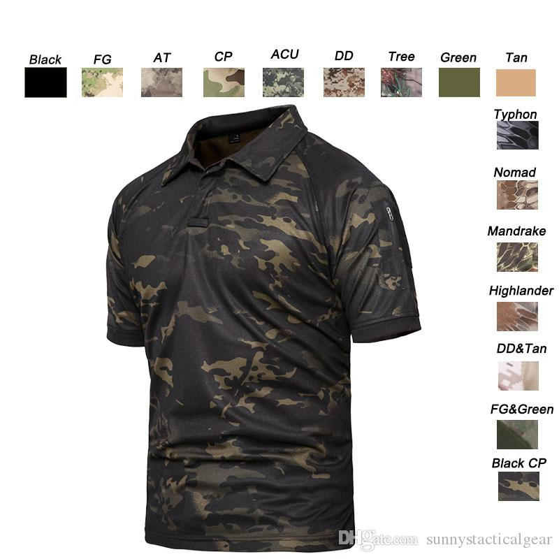Outdoor Woodland Hunting Shooting Shirt Battle Dress Uniform Tactical BDU Army Combat Coat Quick Dry Camouflage T-Shirt SO05-108