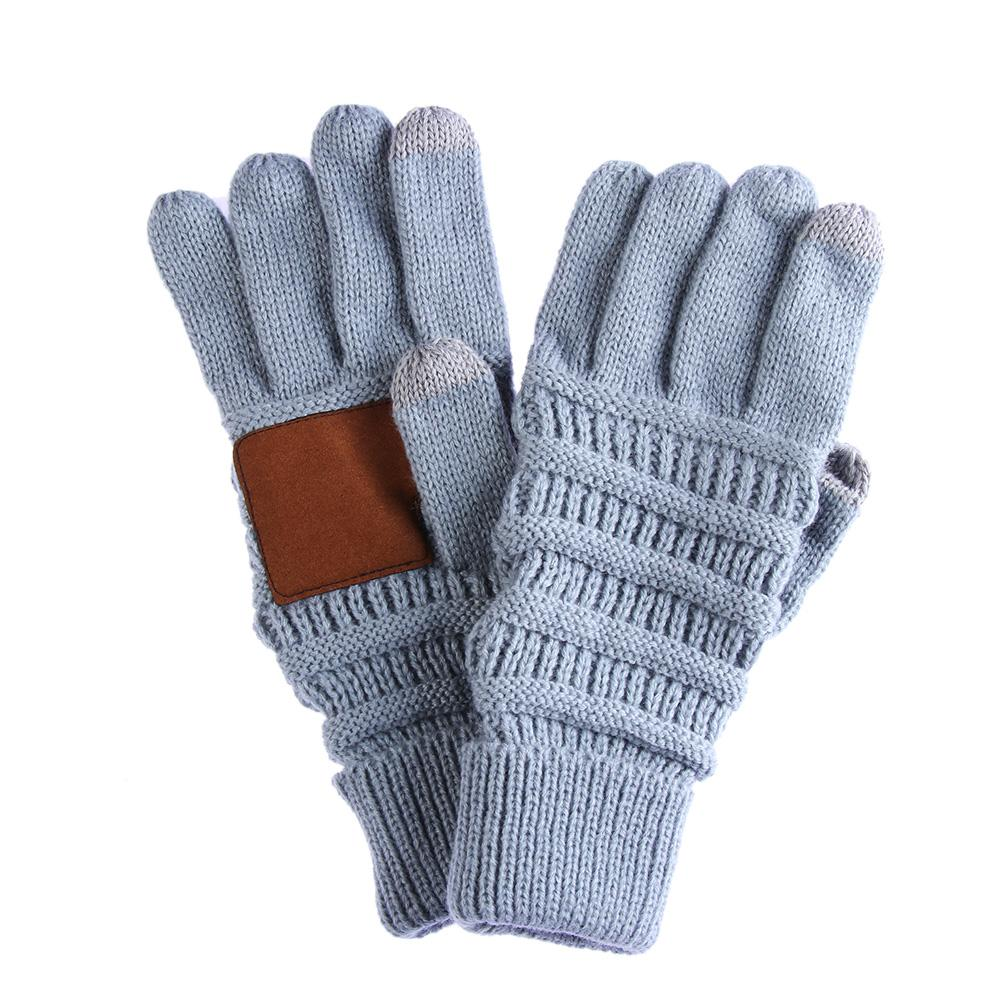5344ff9ef04 2019 Unisex Cable Knit Gloves Full Finger Mittens Winter Warm Anti Slip  Touch Screen Gloves Driving Soft Warm Mittens From Lotusflowern