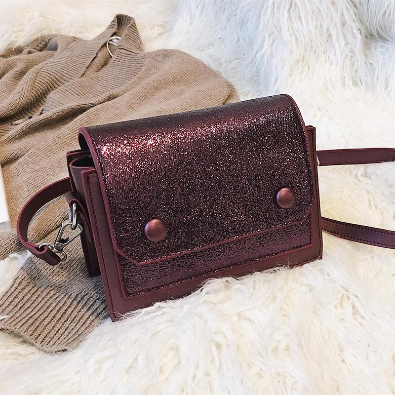 7ff6d2000e Personality Sequin Flap Small Square Bag Luxury Handbags Women Bags Designer  Hotsale Wild Shoulder Messenger Bag Ladies Hand Bag Shoulder Bags For Women  ...