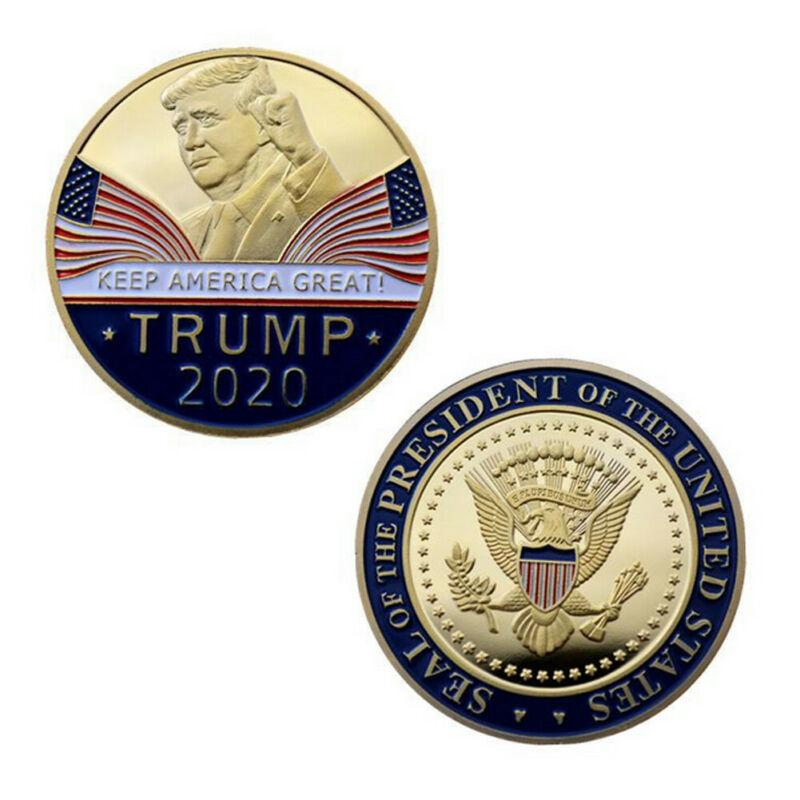 2020 US President Donald Trump 24k Gold Plated EAGLE