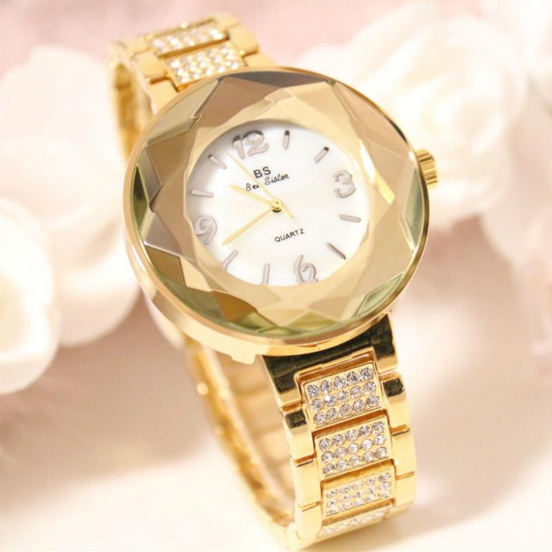 New Arrival Women Watches Stainless Steel Famous Top Brand Quartz Watches Ladies Wristwatch Relogios Femininos Women Watch