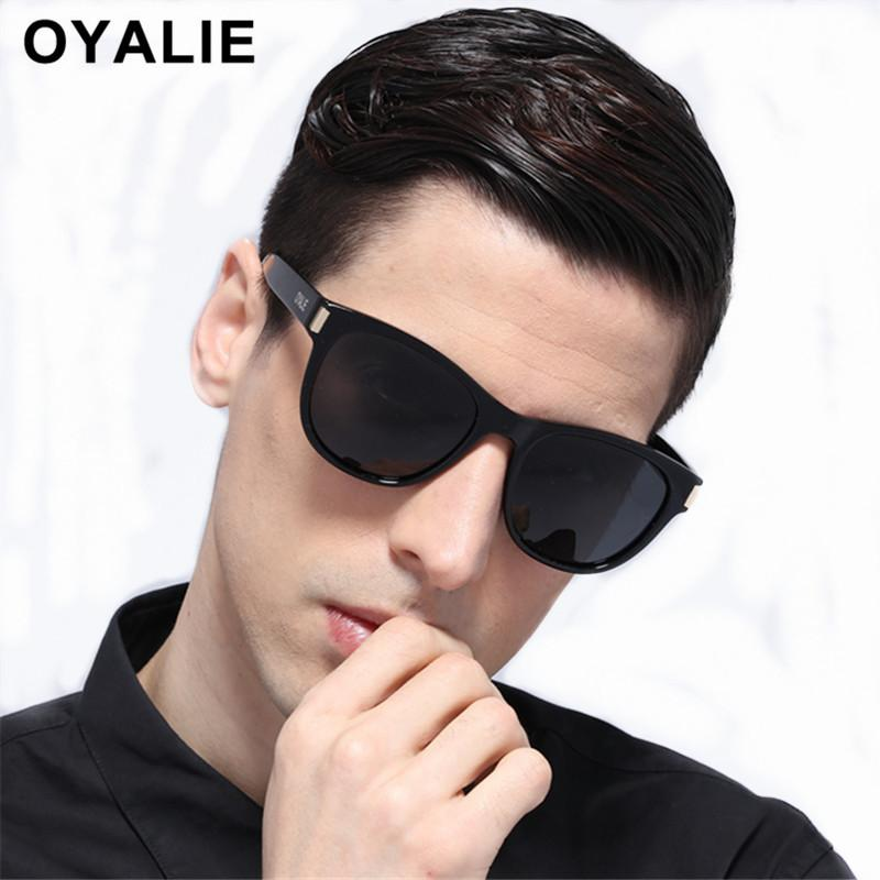 8a65c3547ab OYALIE Round Polarized Driving Sunglasses Cat Eye For Women Men Black Night  Vision Eyewear Driver Sun Glasses Gafas Ciclismo Online Eyeglasses Discount  ...