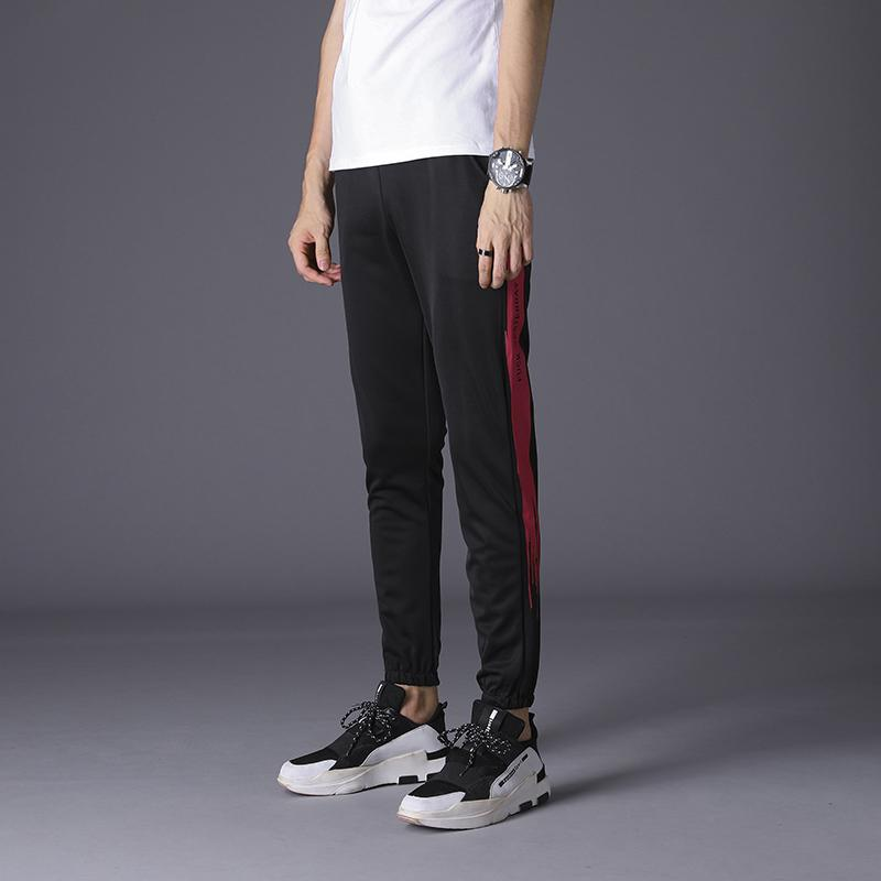 a68191dbba5 2019 New Collection Elastic Waist Track Pants Side Stripe Trousers Mens  Womens Fashion Joggers Street Wear Sweatpants From Xiatian8, $41.03 |  DHgate.Com