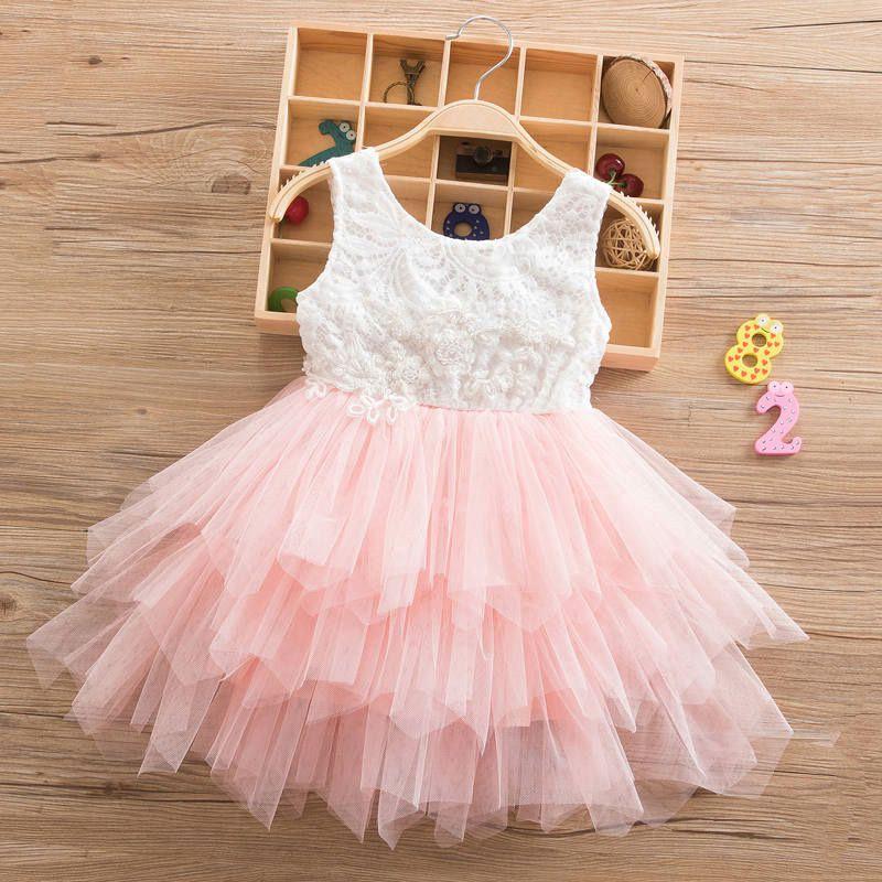 391a8f984 2019 Summer Dresses For Girl 2019 Girls Clothing Princess Wedding ...