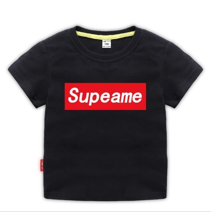 2ddcb17bbd93 Summer Designer New Brand 1-8 Years Old Baby Boy Girl T-shirt Summer ...