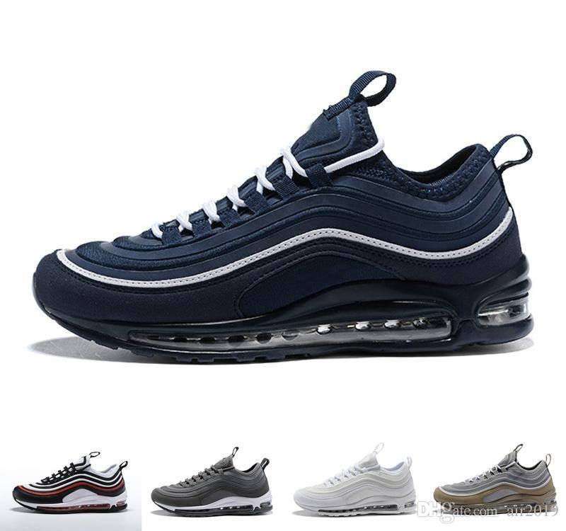 46 Nike Air Max 97 UL '17 Running Shoes Wmns Sz 8 Gold