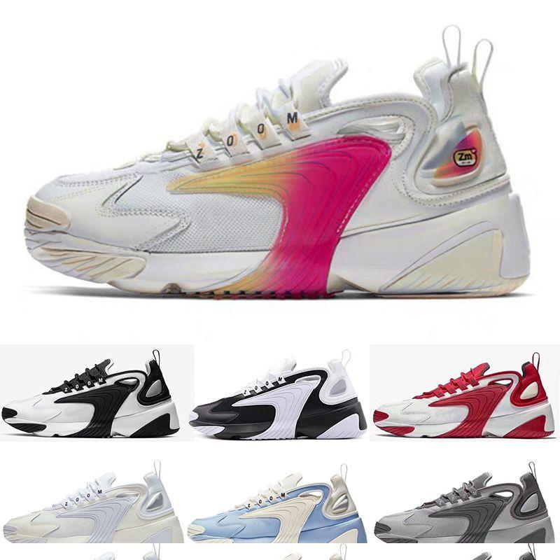 397aafa940c1 2019 Mens Trainer Sneaker Designer M2k Tekno Zoom 2K Men Basketball ...