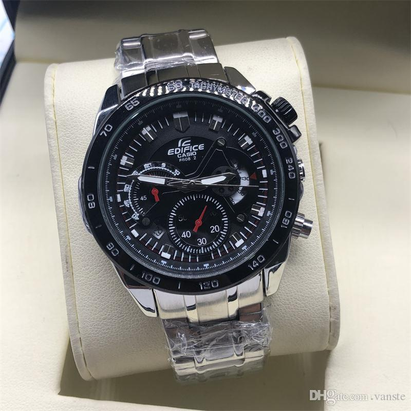 747eb90b929 Top Luxury Men EF Business Watch SHOCK All Subdail Work Chronograph  Automatic Quartz Watches Big Bang Relogio Master Oak Un Wristwatch 1884  Watches Online ...