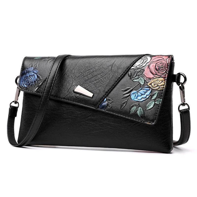 c4c28d250dbf 2019 Fashion Famous Brand Design Multi Pattern Europe National Style Bag  Women S Bag Shoulder Slung Handbag Ladies Wild Female Cover Bag Hobo  Handbags ...