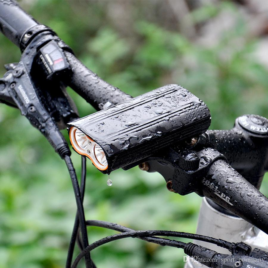 Rear Lamp SET Wide Beam Waterproof 5 LED Bike Bicycle Cycle Front Head Light