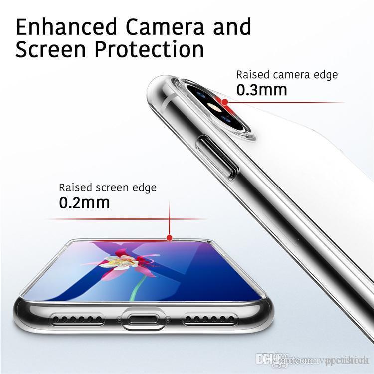 a9c432f8175 Fundas Para Moviles Chinos La Funda Perfecta Para El Teléfono Del Diseñador  Se Ajusta Al Iphone Xs Max Xr X Sumsang Nota 9 S7 0.3MM Crystal Gel Ultra  Thin ...