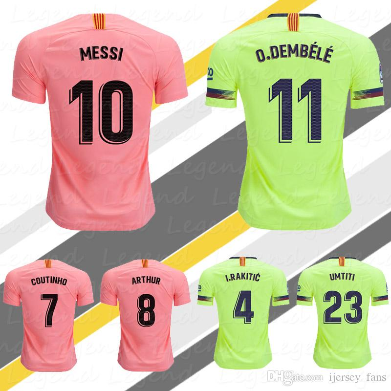 9f366199750 2019 LIONEL MESSI Jersey 2020 Futbol Club Third Pink Camiseta SERGIO  COUTINHO ARTHUR MALCOM PIQUE O.DEMBELE SOCCER JERSEY Football Shirts From  Ijersey fans