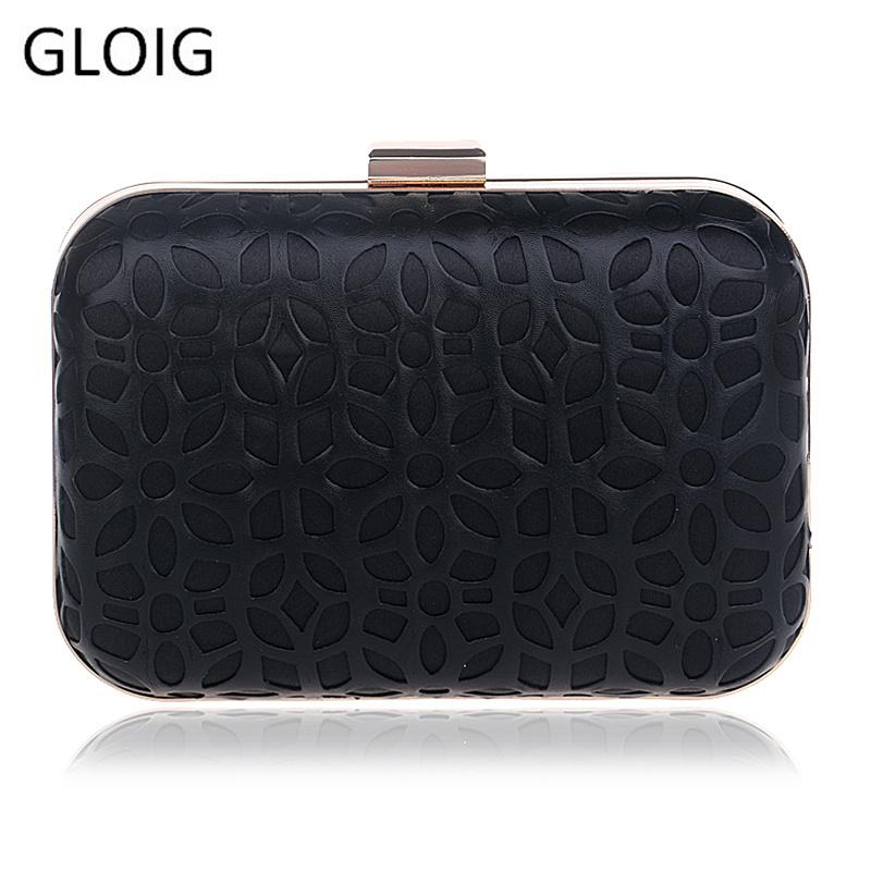Hollow Out Pu Clutch Evening Bag Diamonds Clutches Shoulder Bag For Wedding/Dating/ Purse Bag For Party Wedding Handbag T191002