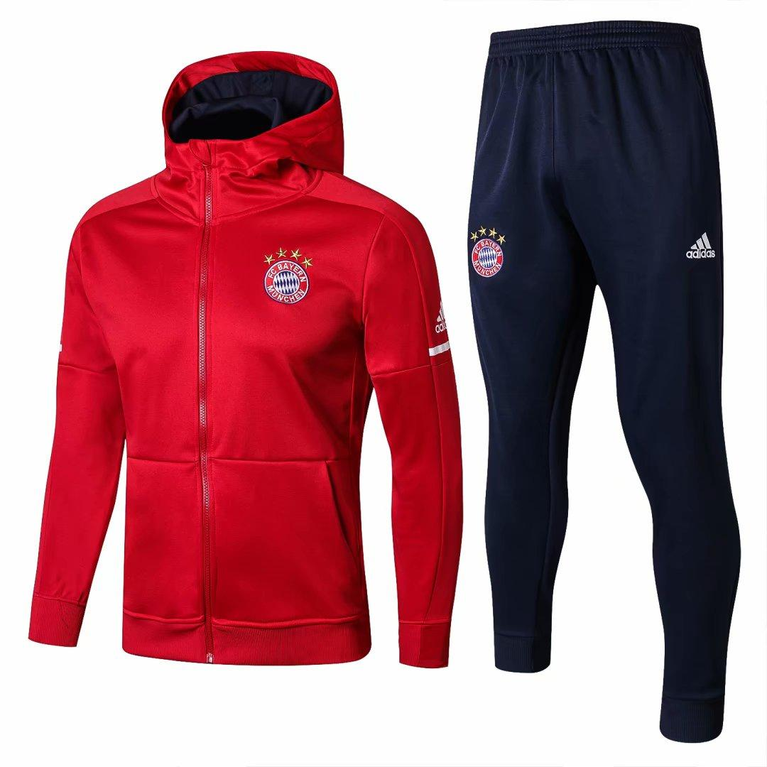 9ec632d05fe Acheter Survêtement D entraînement Du Bayern Munich 2018 ROBBEN Football  Survetement De Football LEWANDOWSKI Chandal JAMES Maillot De Foot Veste Kit  De ...