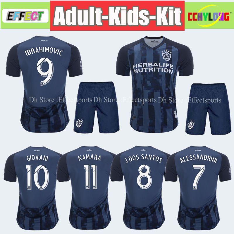 san francisco b9e15 7a307 New 2019 Zlatan Ibrahimovic Soccer Jersey Kit La Galaxy Adult Sets MLS  18/19/20 Giovani Los Angeles Kids Boys Youth Maillot de Foot Shirts