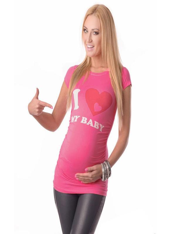 9e0acf77ab06 Compre Enfermera De Manga Corta Para Mujer Embarazada Maternidad Tops Madre  Impresión Camiseta Blusa L316 A $36.23 Del Jeanyme | DHgate.Com
