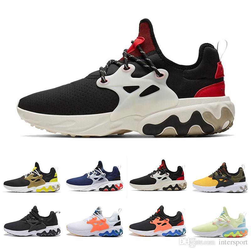 Best Running Shoes For Women 2020 2020 React Presto Men Women Running Shoes Triple Black Rabid Panda