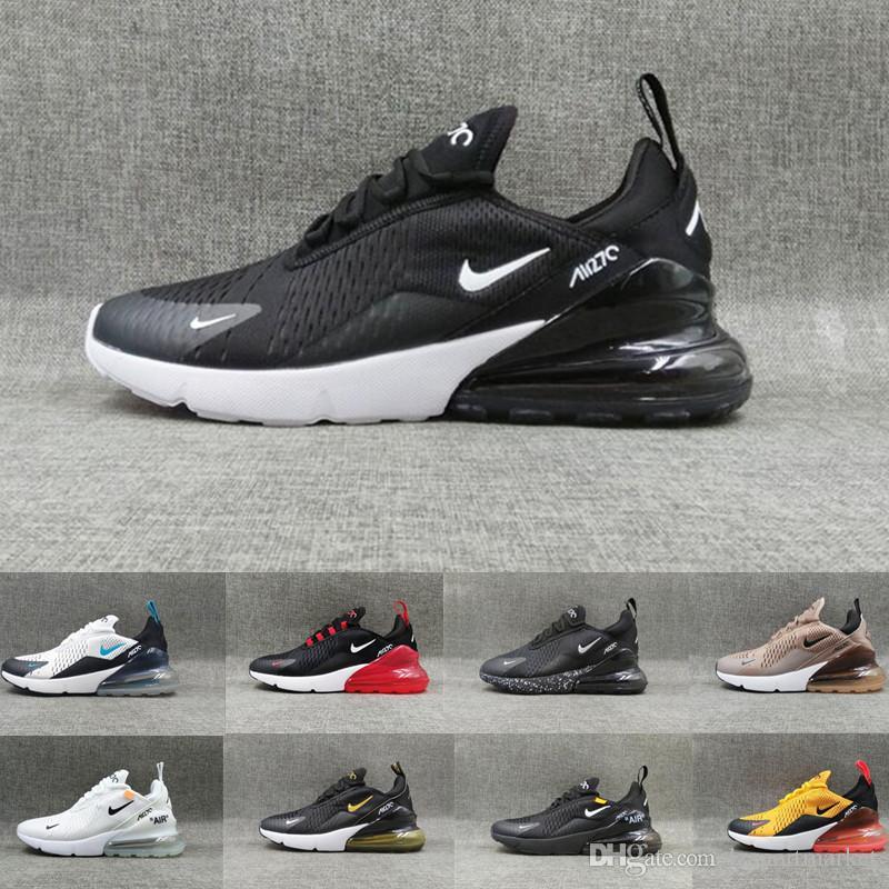 Compre Nike Air Max 270 Tn Plus Nueva Llegada 270 Tn Plus Para Hombre Y Para Mujer Flair Triple Negro Blanco Zapatillas De Deporte 27c Zapatillas