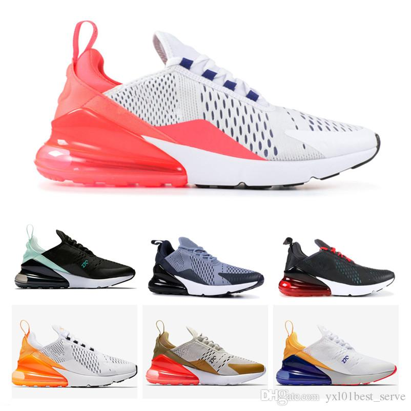 2018 New 270 Tiffany Vibes Flight Gold Philippines White Orange Sports Running  Shoes Men Women AAA+Quality Fashion Outdoors Trainers 36 45 Cheap Running  ... 8e38bb23d330