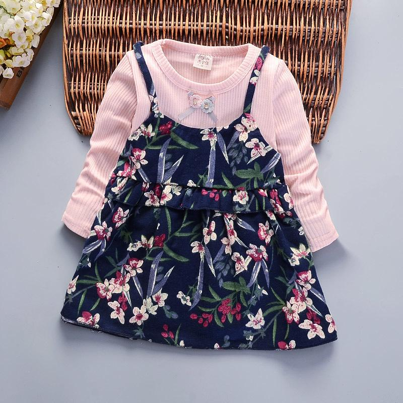 f3842bd51 2019 Good Quality 2018 Spring Autumn New Children Dress Girls Casual ...