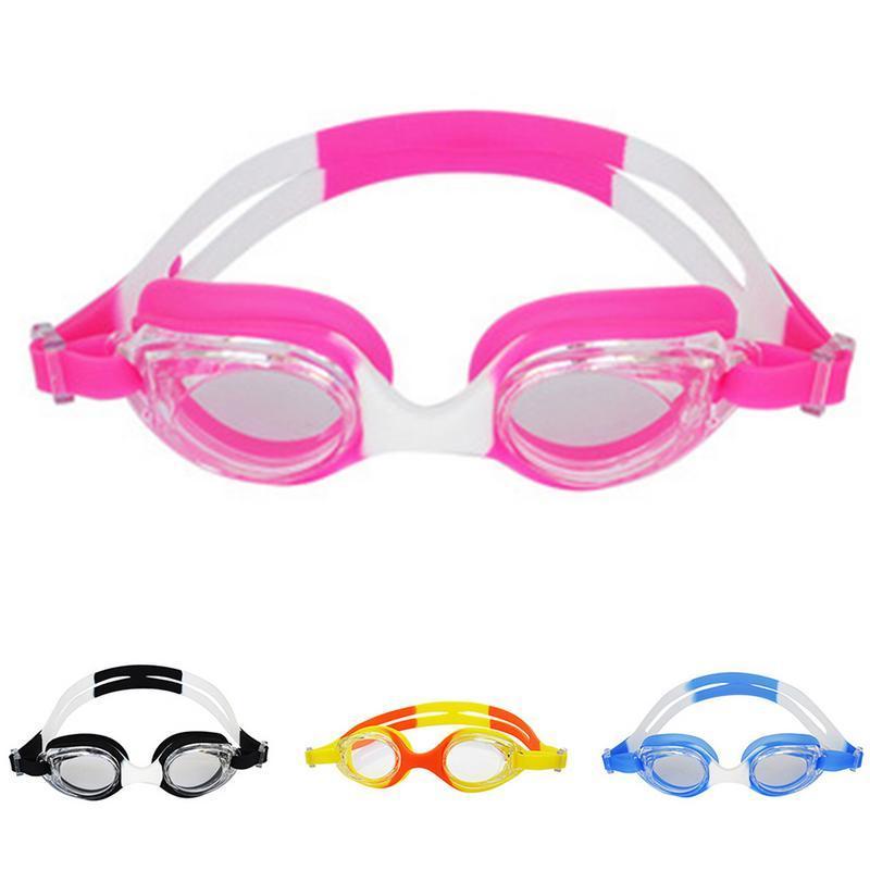 35acd8f68 Compre Profissional Silicone Transparente Natação Óculos Anti Fog UV  Crianças Esportes Eyewear Óculos De Natação Para Crianças De Teawulong, ...