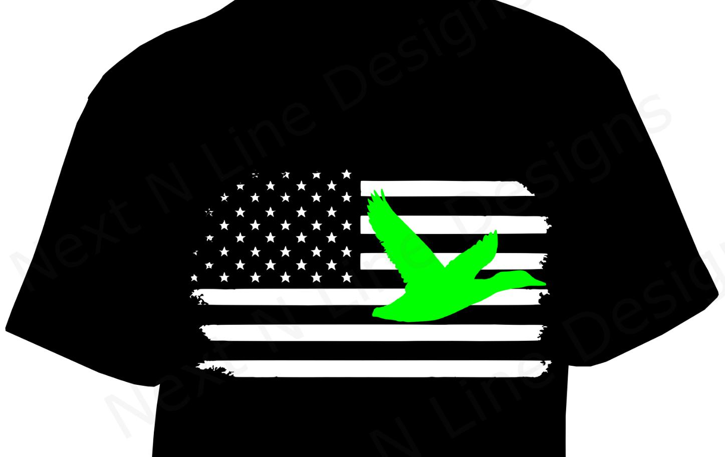 c9771ca03ddbc Duck Hunting, Waterfowl, Duck, Shotgun, American Flag, America, Clothing,T  Shirt Unisex Casual Tshirt Top Printed T Shirt Funny T Shirts For Guys From  ...