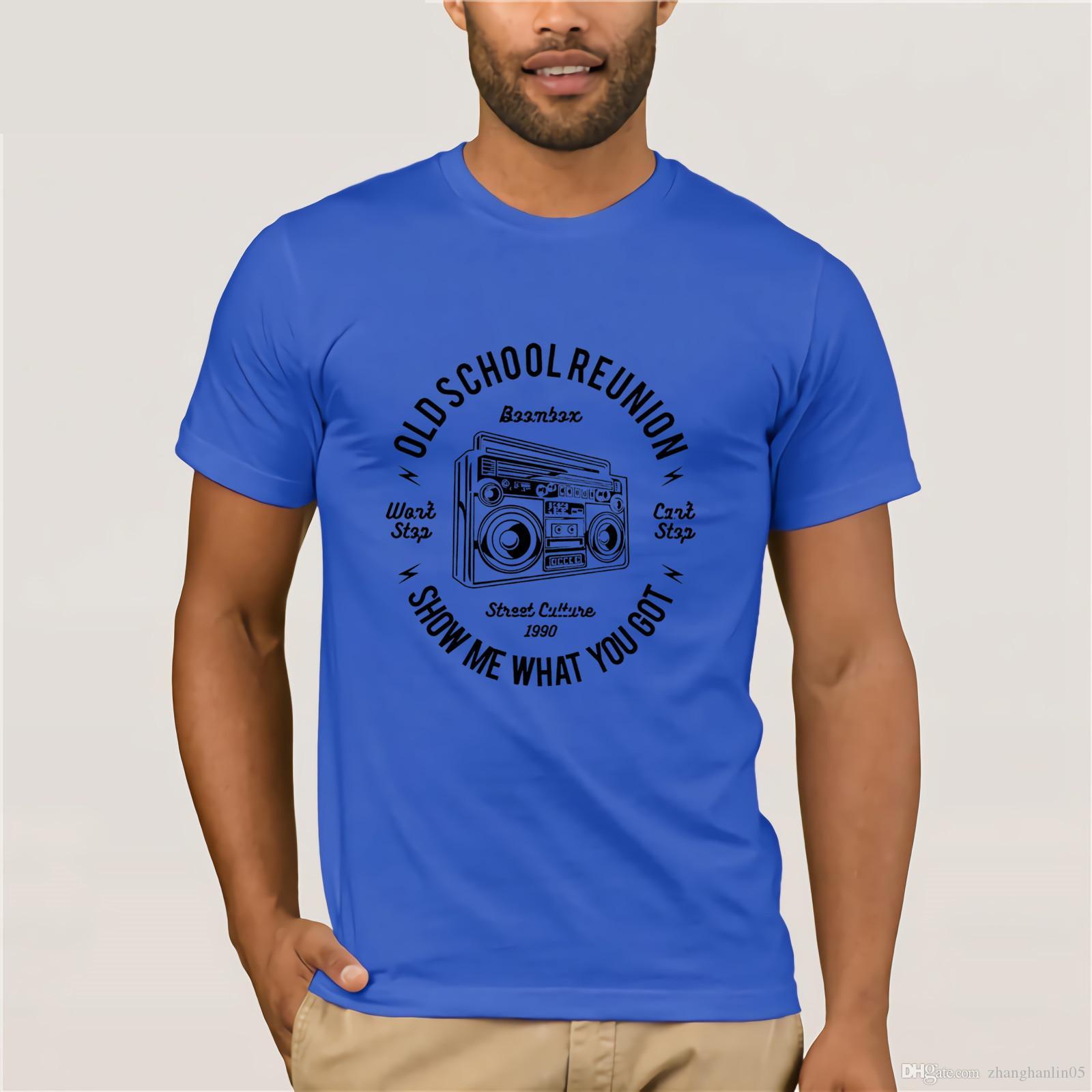 3823098091377 Compre Lo Nuevo 2019 Moda Hombre Hip Hop Novedad Camisetas Ropa De Marca  Para Hombre Boombox Hip Hop Rap Wu Tang Jedi Trucos Mentales Camiseta A   14.21 Del ...