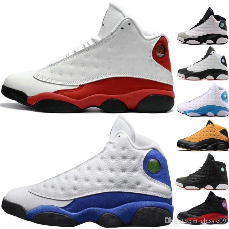 new style 31c05 91db9 Acheter Meilleure Qualité 13 13s Hommes Chaussures De Basketball Chicago He  Got Game Barons Hologram Gris Toe XIII Hommes Sport Baskets Taille 40 47 De  ...