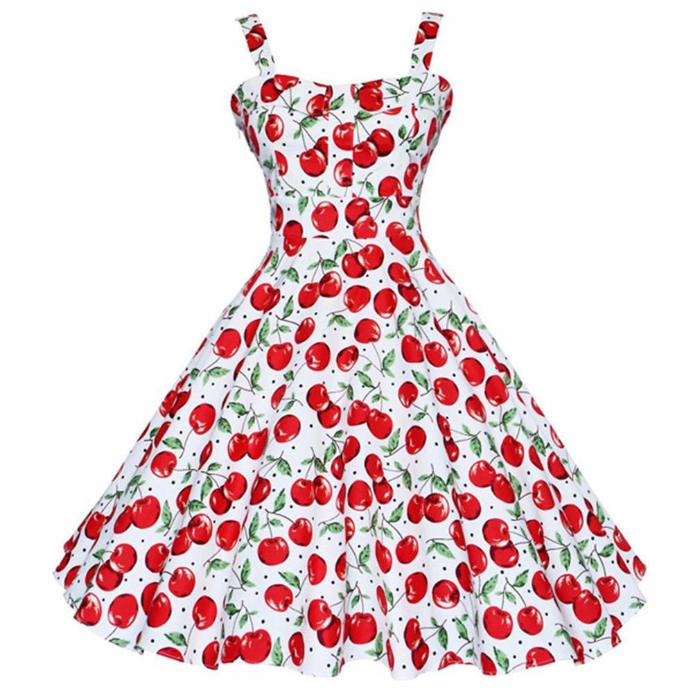 e5c634d8ca6a 2019 Kenancy Summer Dress Vintage Rockabilly Dress Jurken 60s 50s Retro Big  Swing Floral Pinup Women Audrey Hepburn Dress Vestidos Y190117 From  Jinmei01, ...