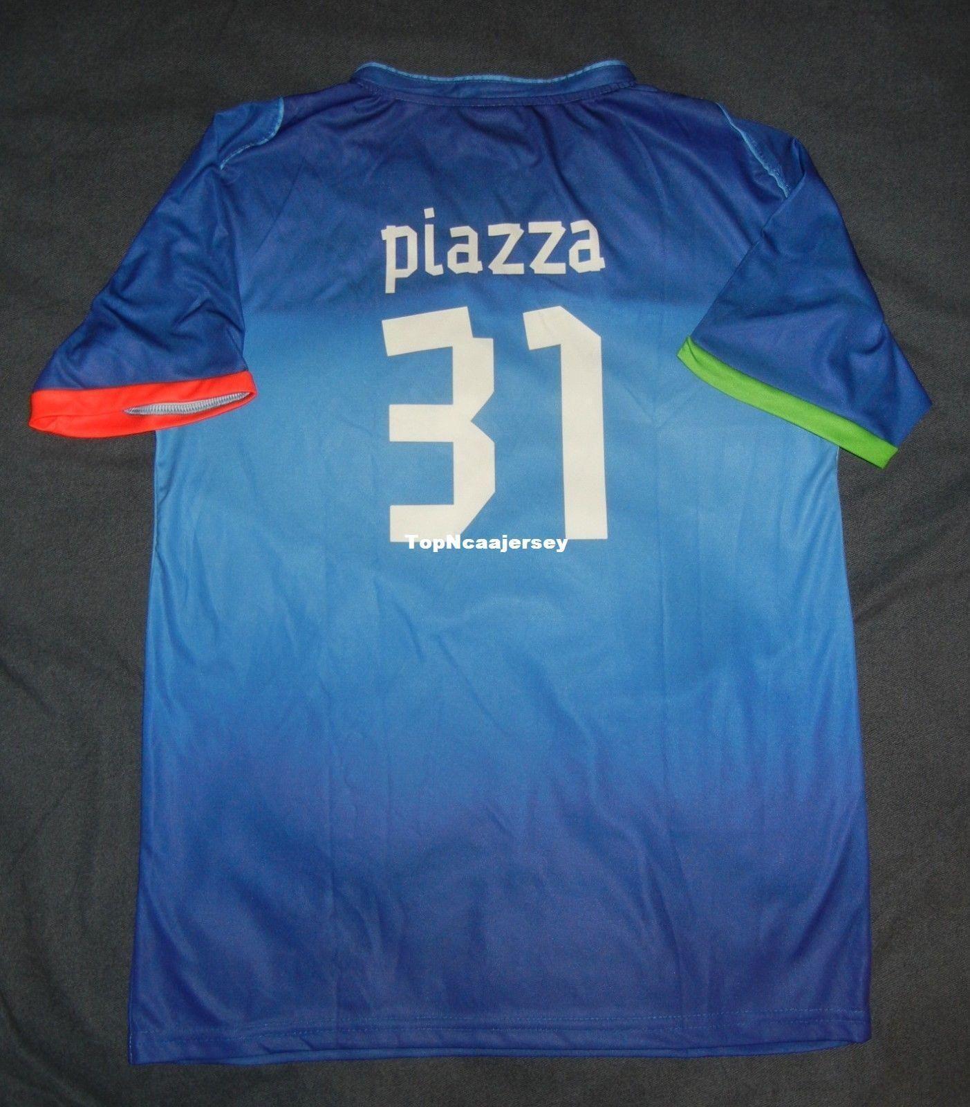 2019 Cheap Retro  31 MIKE PIAZZA NEW YORK Rare Italy Soccer Jersey SGA Citi  Field MINT Medium M Mens Stitched Baseball Jerseys From Hysjersey 38fc4e488