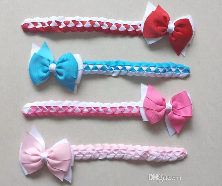 Updo Hair Bun Wraps Bows Clips Head Wrap Gingham Hair Band Headbands ... ce384b780024