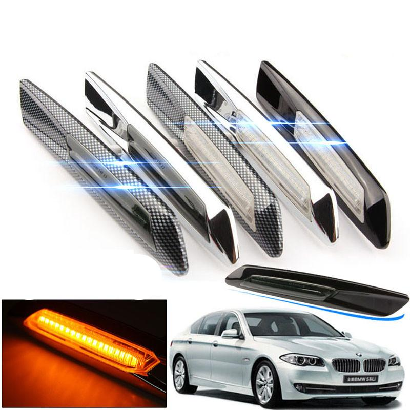 154d736c537d 2019 Car Styling LED Smoker Side Marker Light Fender Turn Signal Lamp For  BMW E81 E82 E87 E88 E90 E91 E92 E60 E61 Accessories From Out2244