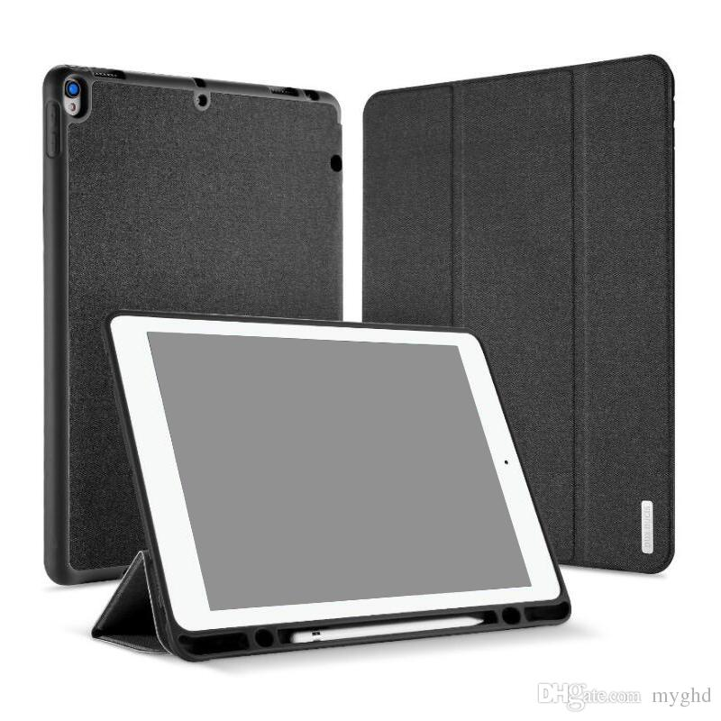 san francisco 39a51 d2094 DUX DUCIS Smart Case For iPad Pro 11 12.9 PU Leather Flip Cover iPad 9.7  mini 4 with Pencil Holder