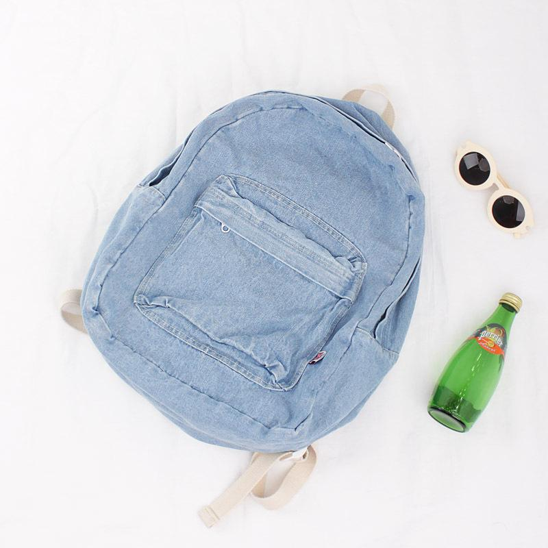 2019 New Arrival Spring Women Backpacks Canvas College Bags For Teenage  Girls Ladies  Travel Backpack Blue White School Bags Backpacks Cheap  Backpacks 2019 ... d7b907069f581