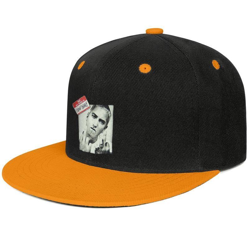 50c21bfe8 Eminem Fingers Black Baby Doll Design Hip-Hop Cap Snapback Flat Bill Brim  Baseball Hat Breathable Adjustable