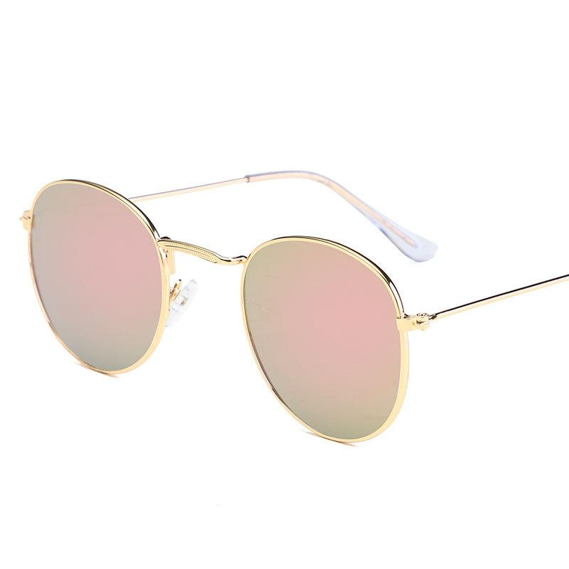 b4dd362cba Fashion Men S And Women S Metal Retro Sunglasses Round Box Color Film  Glasses Fashion Sunglasses Dragon Sunglasses Vintage Sunglasses From  Sunny7520