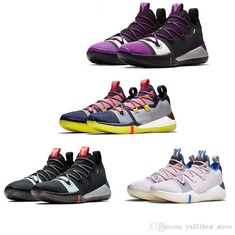 watch 30cf0 50fa8 New Kobe AD EP Mamba Day Sail Wolf Grey Orange Multicolor Basketball Shoes  for AAA+ quality Mens Trainers Sports Sneakers Size 7-12.