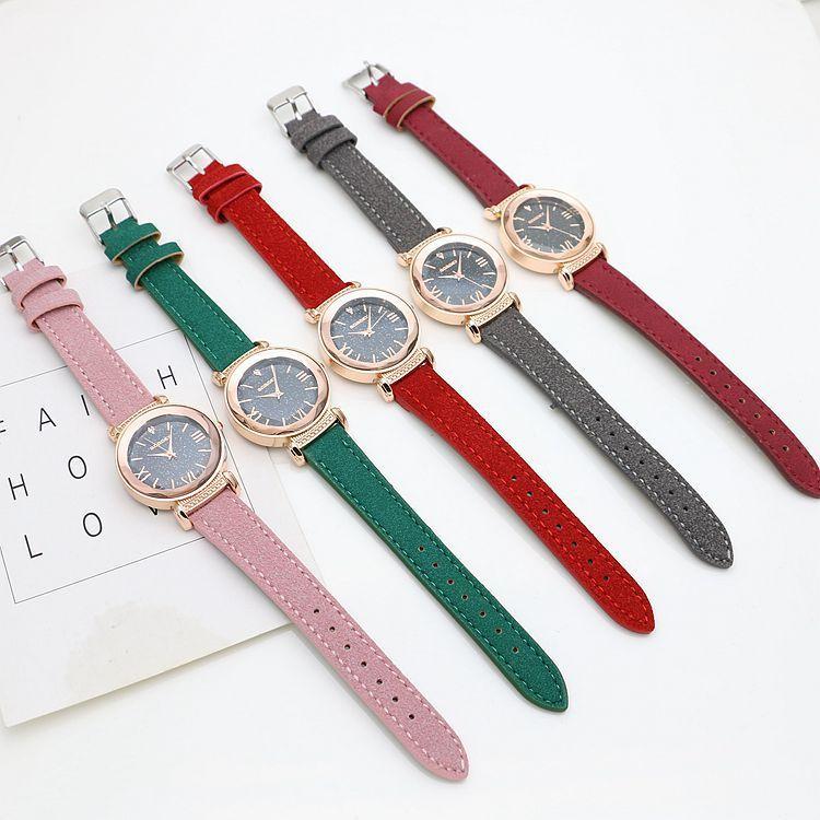 1a44cca18338 Compre Nueva Moda Gogoey Marca Oro Rosa Relojes Cuero De Las Señoras Las  Mujeres Vestido Informal Reloj De Pulsera Reloj De Mujer A  10.16 Del  Cjx1234556 ...