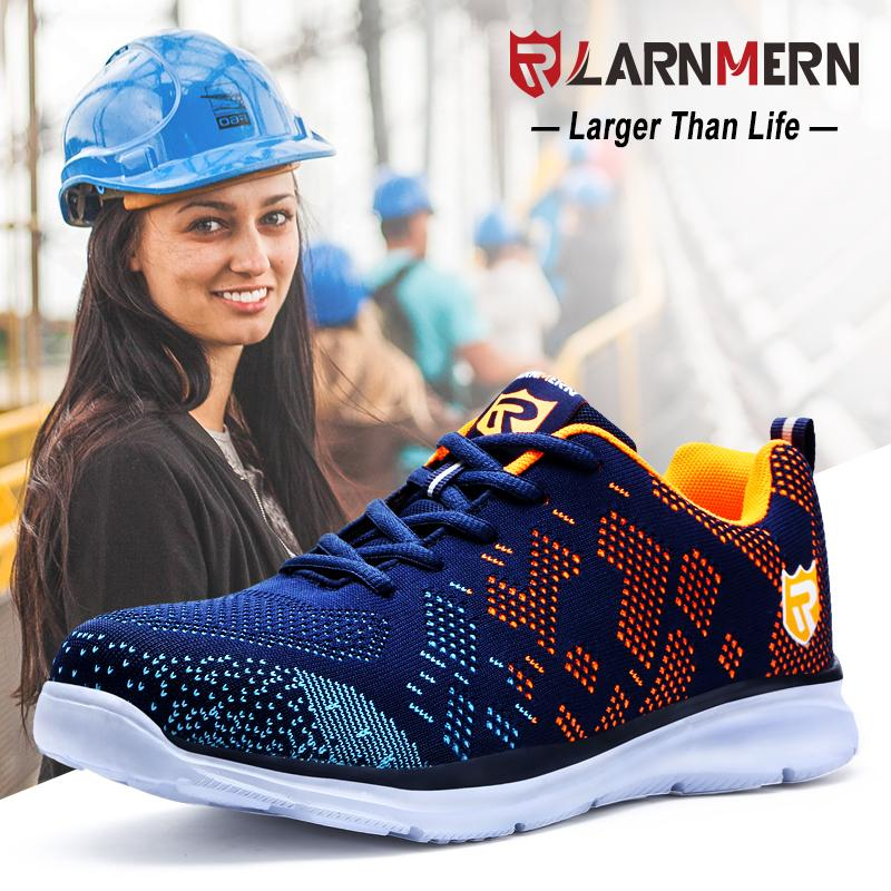LARNMERN Safety Shoes Women Steel Toe Working Safety Protection Sneaker  Shoes For Women Breathable Lightweight Anti Piercing Shoe Sale Pumps Shoes  From ... 937a812067