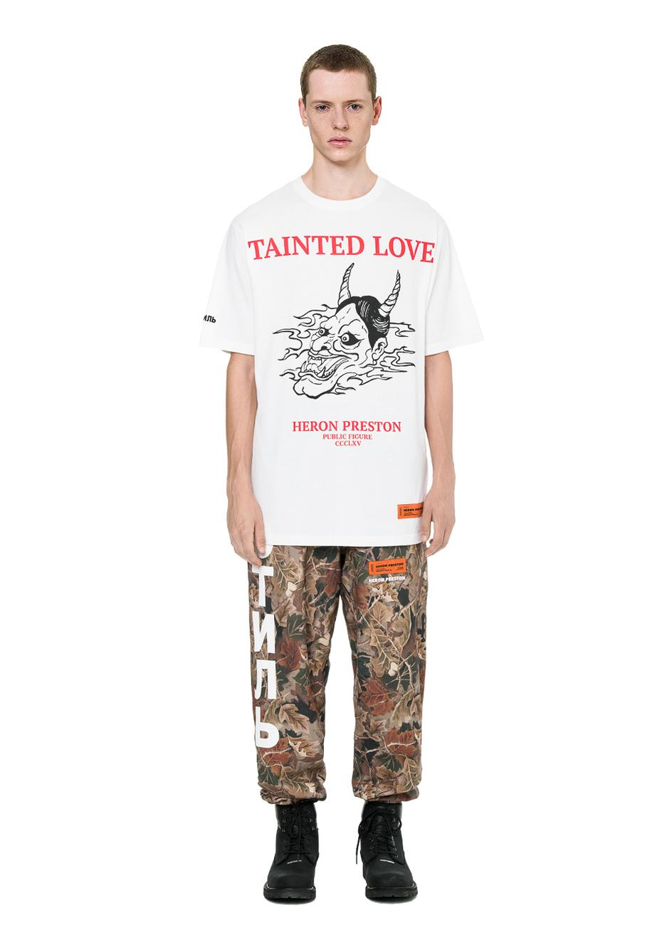 Heron Preston T Shirt Men Women High Quality Tainted Love Dragon Print Loose Fit Hip Hop Top Tees Heron Preston T Shirts