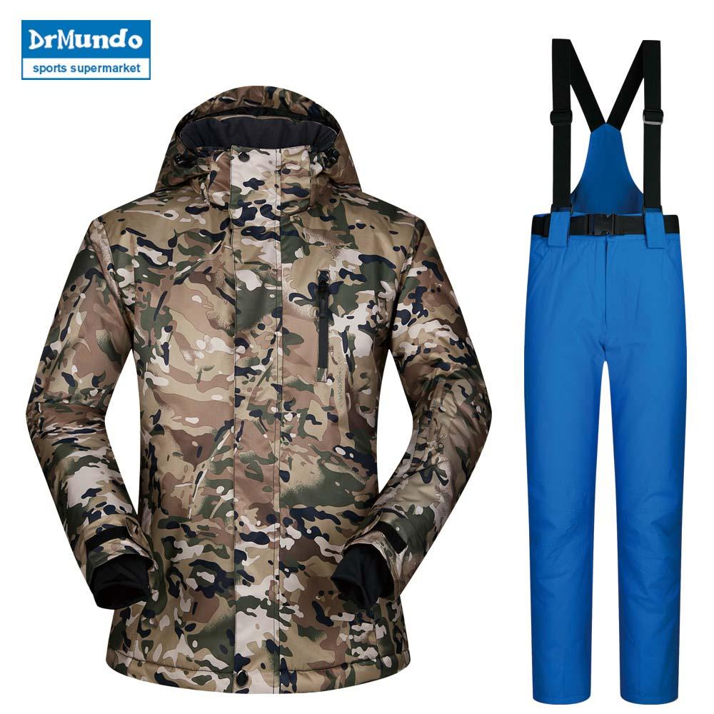 2019 Ski Jackets Brands Suit Male Windproof Waterproof Breathable Thicken Men  Snowboard Jacket Men And Pants Snow Coat Trousers From Bluelike 2569af754